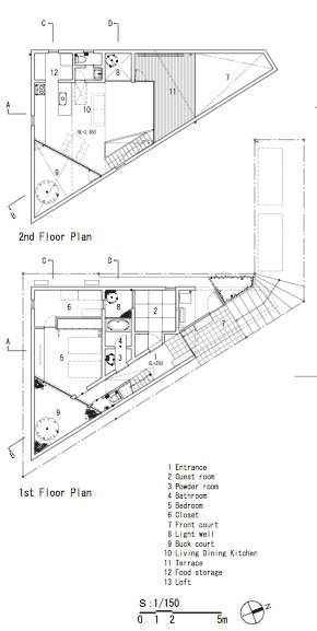 Image 25 of 26 from gallery of UN / Yo Yamagata Architects. floor plans