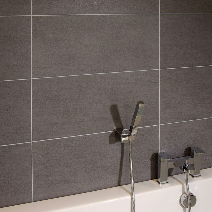 Quattro Titanium Wall Tile, priced at £39.95 per m2. Manufactured and designed in Italy, this contemporary tile range is suitable for usage in all living areas, and is sure to bring elegance and harmony to your bathroom.  Available in 4 colours with matching floor tiles and mosaics. Order now at - http://www.betterbathrooms.com/bathroom-tiles/porcelain-tiles/quattro-titanium-wall-tile/