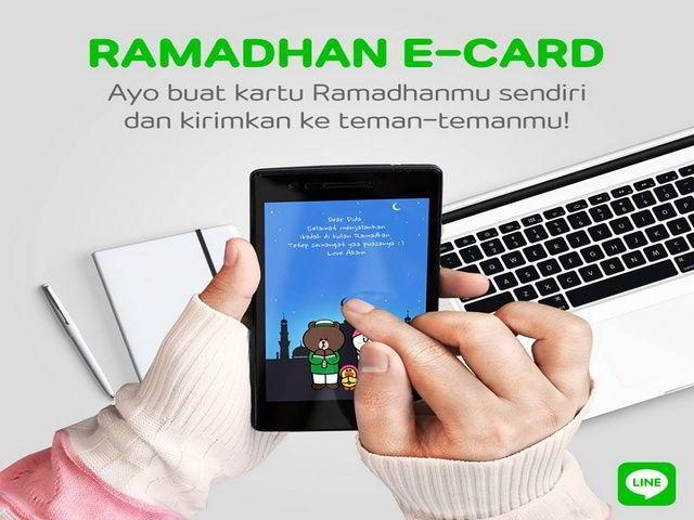 Kuis Share Ramadhan E-Card Berhadiah Samsung Galaxy S6 Edge - Hai sobat MisterKuis, buat kamu pengguna aplikasi LINE messenger. Mau mendapatkan hadiah