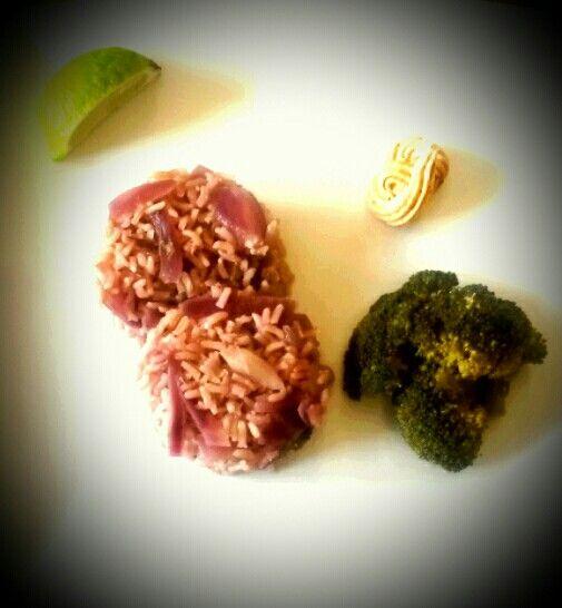 #creole #risotto  #vegan #recipe #cajun