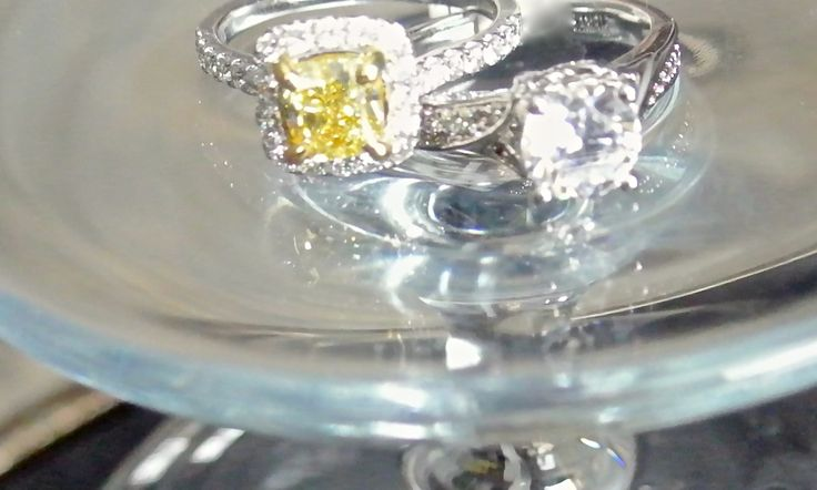 Custom Jewellery Custom Engagement Ring Diamond Ring Yellow Diamond Gold Zak Haus