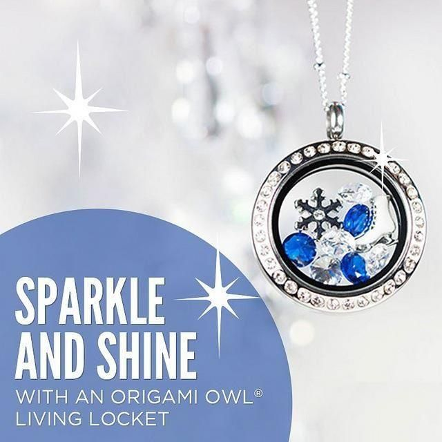 Origami Owl- Sparkle and Shine this holiday season! Book your jewelry bar today and receive free gifts for loved ones! contatct Melissa Istvanik.  Go to my FB page Origami Owl-Melissa Istvanik, Independent Designer or my website www.melissasowllockets.origamiowl.com
