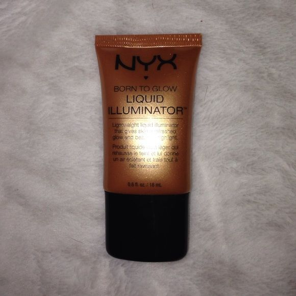 NYX HIGHLIGHTER In the shade pure gold. Used once, too dark for me ( I have…