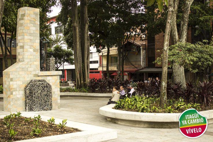 Renovado Parque Obrero del municipio de Itagüí.