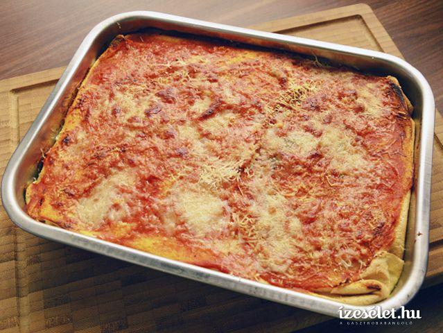 Palacsintás rakott lasagne (timballo)