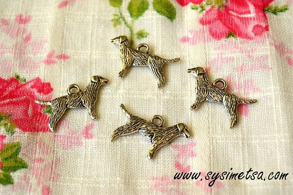 Miniature Crow Charms - Antique Silver Color Raven Animal Pendants 4pcs - 15x24 mm - Nickel Free
