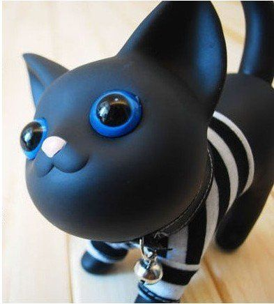 Cute Cat My First Piggy Bank Black -- Want to know more, click on the image.