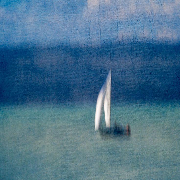 White Stripes On Blue Moods