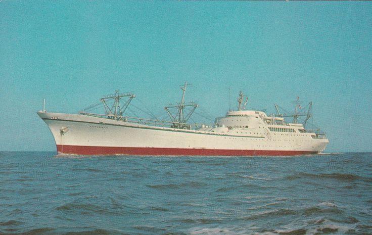 """Navio Nuclear """"Savannah"""""""
