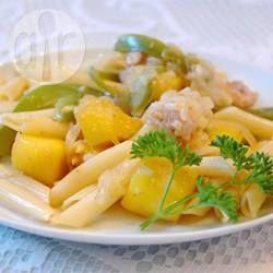 Creamy Chicken and Mango Pasta @ allrecipes.com.au