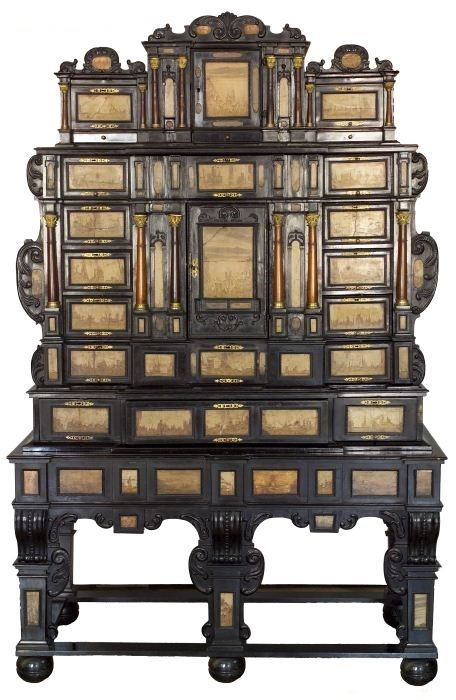 Cabinet of Duchess Elizabeth Lucretia of Teschen (Cieszyn) by Anonymous from Silesia or Germany, 1640s, Muzeum Śląska Cieszyńskiego