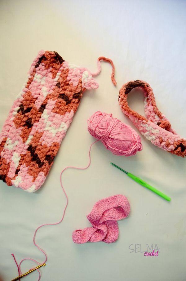 Bandana Kelok dan yang Bagus (Acliric part 2) - Selma's Crochet