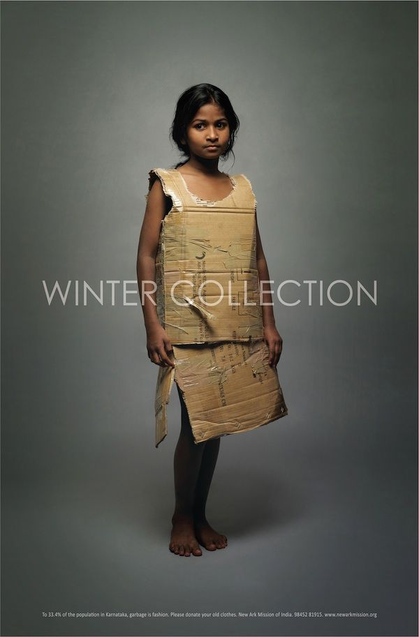 Poverty - Poignant Posters Winter Collection