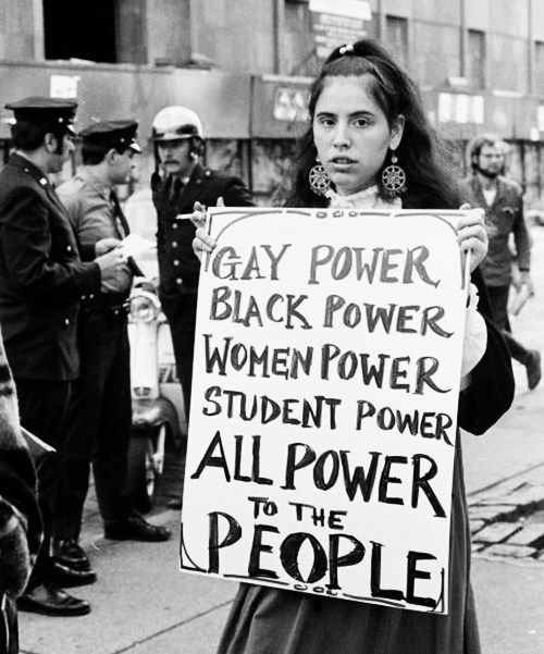 "I like the idea but I would put at the end ""Human power"" because in the end we are all human, gay, straight, queer, bi, we are all equal and human"