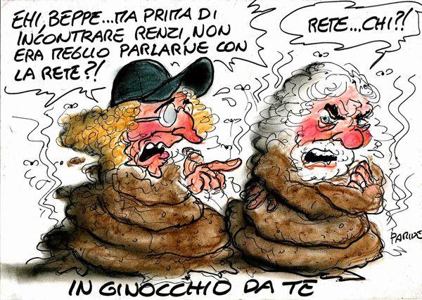 ITALIAN COMICS - I Cinquestelle sono arrivati in soccorso del…vincitore