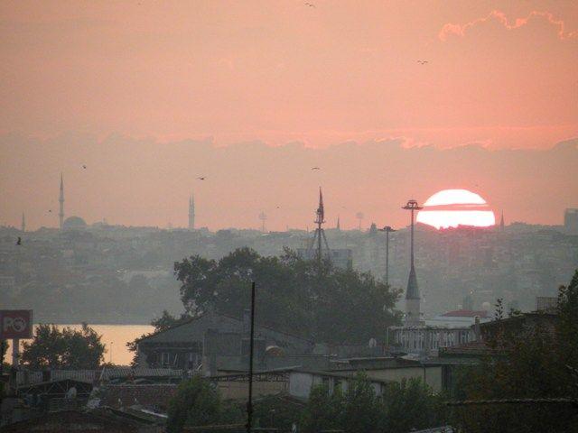 Amazing sunset - Istanbul, Turkey