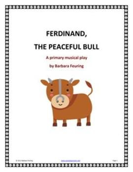 This is a great play for Remembrance Day or any occasion where the focus is PEACE. This Spanish folktale teaches young children about peace in a world where fighting exists. I have included all the sound effects and backing track for the Ferdinand song.