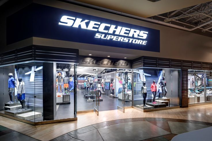 Skechers, a global leader in the lifestyle and performance footwear industry, has opened its largest Skechers mall-based factory outlet store at Ontario Mills centre. At approximately 24,000 square feet, the massive superstore in Ontario, California, features dedicated shops for the various Skechers lifestyle and performance collections for Men and Women, an exciting Kids' area complete with a theatre, as well as a shop dedicated to the brand's growing apparel collection.#Skechers #Ontario…