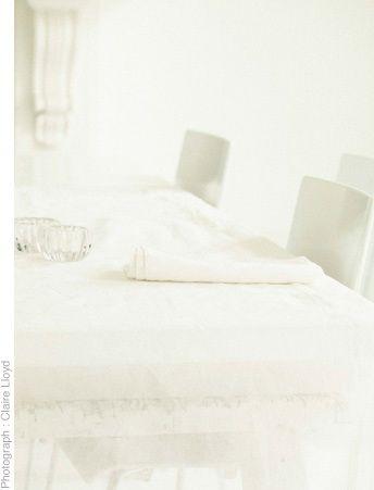 Tablecloth 100% cotton organdie 200 x 120cm