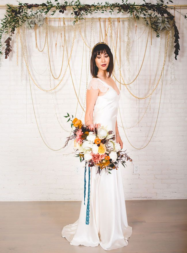 Fall Wedding Inspiration at Cooks Chapel