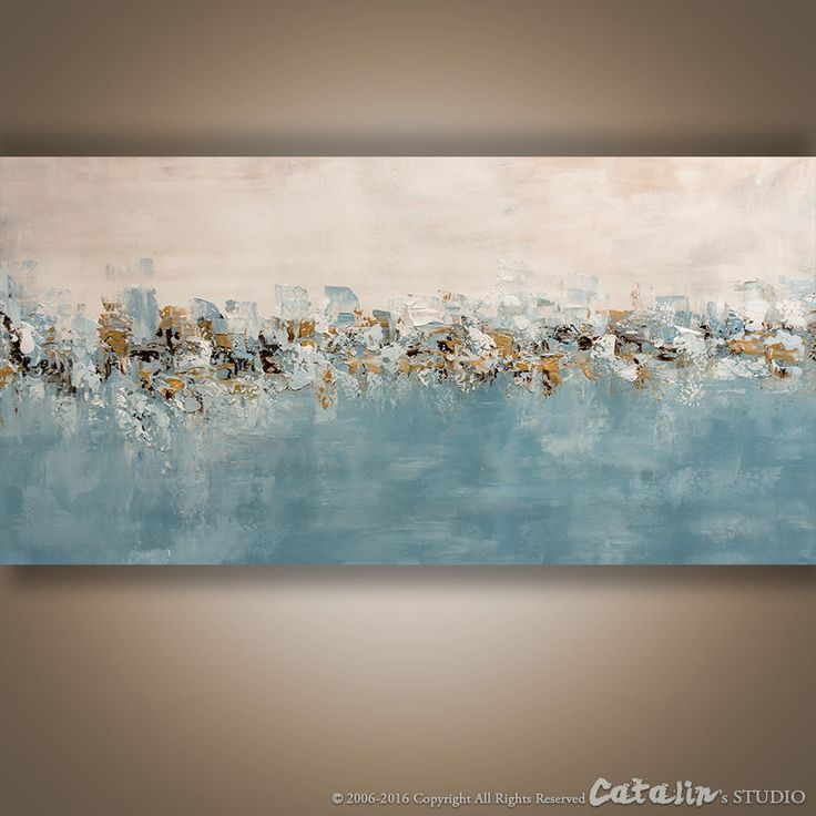 Abstrait couteau à Palette peinture peinture moderne par Catalin