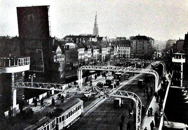 Knippelsbro indviet 17. December 1937 - Foto Hassing 1947