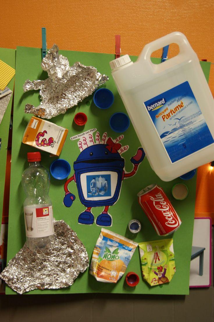 asambláž  afval sorteren