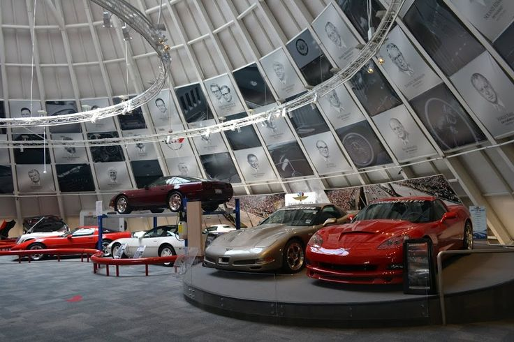 National Corvette Museum,  Bowling Green, KY (Музей корветтов, Боулинг Грин, Кентукки )