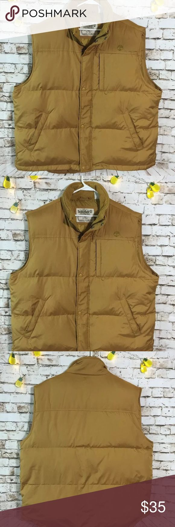"Timberland XL stratham puffer vest jacket In excellent condition!! 28"" chest measurements Timberland Jackets & Coats Vests"