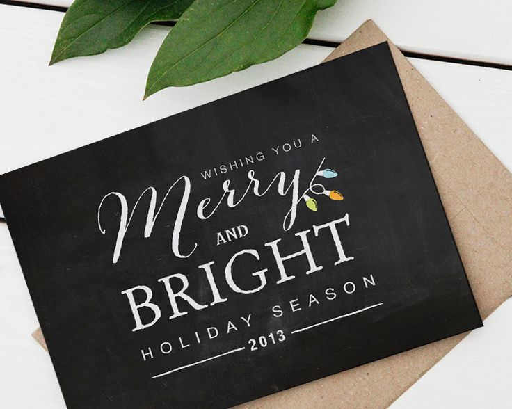 Holiday Card designed by Koket Design