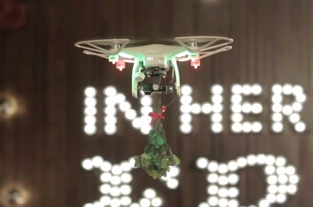 TGI Friday's Christmas Drone