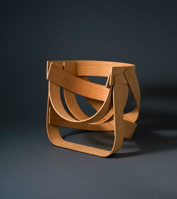 Bamboestoel Chair | From Bamboo Fiber Plywood