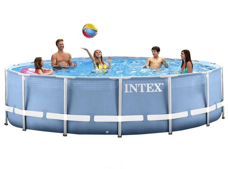 High Quality #Pools #INTEX #28712 Intex 28712 Rahmen Rund 6503l Blau, Weiß Aufstellpool  Intex Pool Prism Frame 366 X 76 Cm. Hier Klicken, Um Weiterzulesenu2026 |  Pinterest