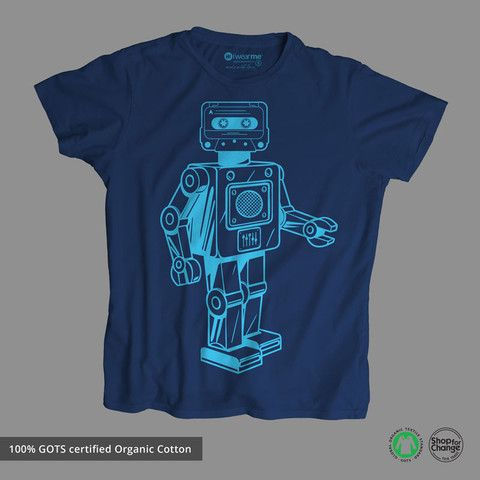 Buy 100% Organic Cotton T-Shirts at Iwearme.in. We are Cotton T-Shirts Manufacturers and Wholesaler in India. Shop your favorite organic cotton apparels online