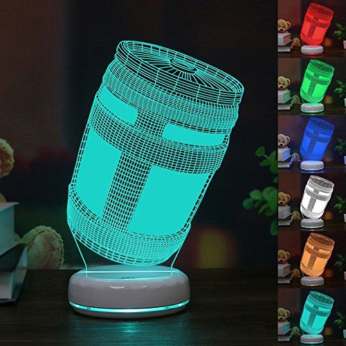 By marc chacksfield these gaming accessories will raise your gaming game in association with we get it. FORTNITE 3D Lamp   Boys room design, Boys game room, Gamer ...