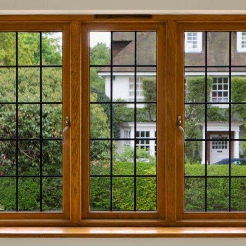 Triple Wooden Vintage Window Frames Design Simply Style