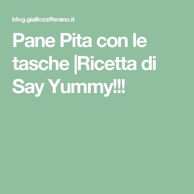 Pane Pita con le tasche |Ricetta di Say Yummy!!!