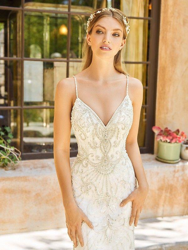 145 best Glamorous Wedding Dresses images on Pinterest