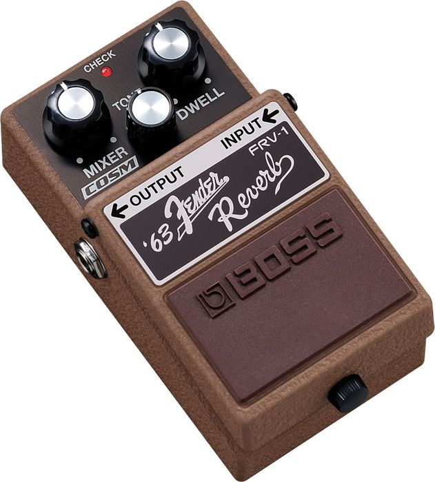 Love this pedal I just picked up BossFRV-1 '63 Fender Reverb Guitar Effects Pedal
