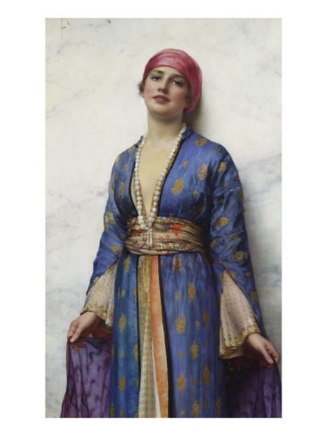 William Clarke Wontner - Yasemeen From The Arabian Nights