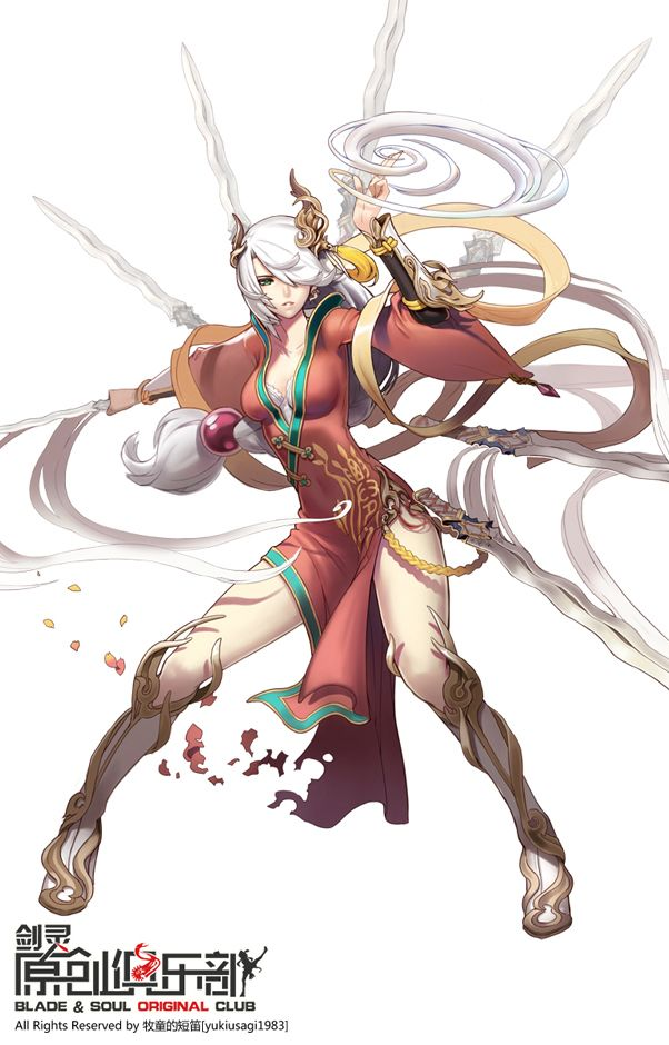 Tags: Anime, Pixiv Id 678995, Blade & Soul, Fan Character