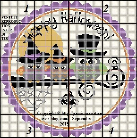 Halloween et chouettes Plus