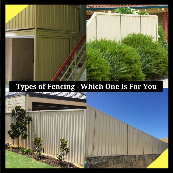 Types of Fencing - Which One Is For You?  There are various kinds of fences available in the market. Find out which kind of fence is appropriate for your house.