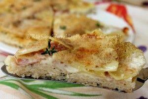 Timballo riso patate e prosciutto cotto -  Rice timbale potatoes and ham