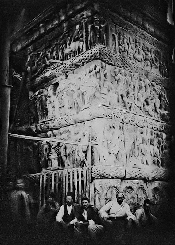 Τμήμα της Αψίδας του Γαλερίου το 1885
