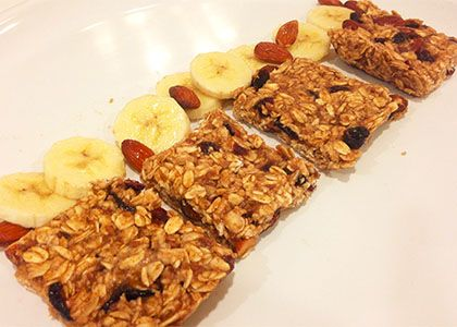 No-Bake Banana Bread Granola Bars | Reboot With Joe