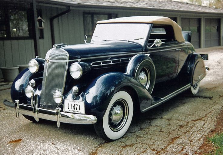 1936 Chrysler C7 Airstream 2 Door Convertible With Rumble