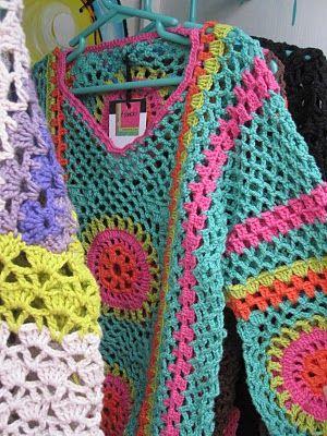 MANOLY, Crochet & Color