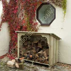 Melbury Log Store (5ft wide)