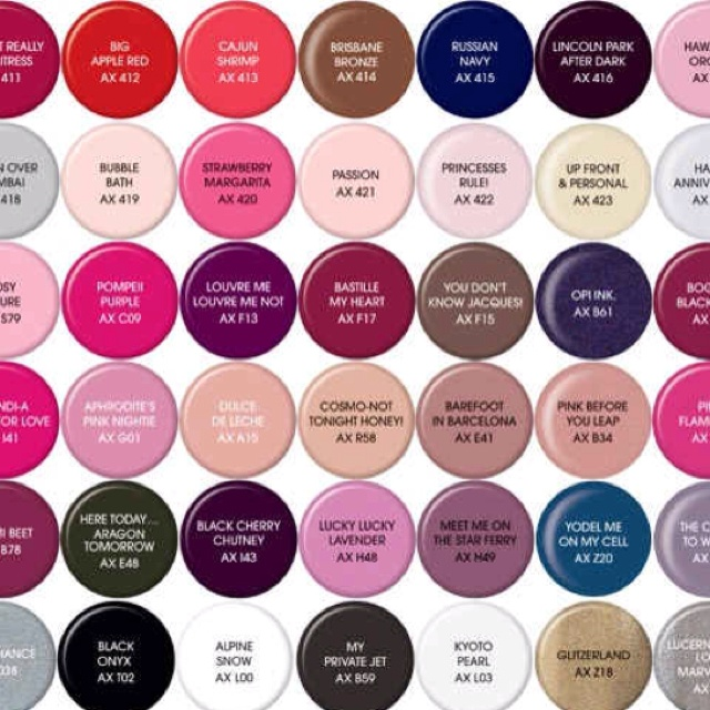 Most Popular Nail Polish Colors: 25+ Best Ideas About Shellac Nail Polish Colors On